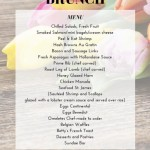 Easter Brunch Canva